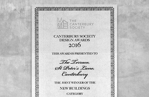 St Peters Lane wins best new build